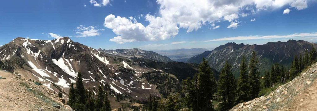 Hidden Peak in the Uinta-Wasatch-Cache National Forest, photo by Kindra De'Arman